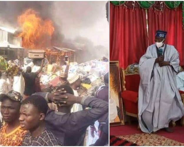 Bola Tinubu Donates N50 Million To Victims Of Katsina Central Market Fire Incident