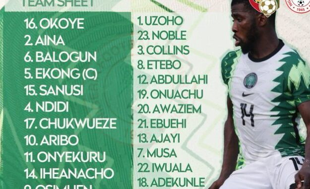 Breaking: Iwobi tests positive for COVID-19, pulled out of Super Eagles vs Squirrel AFCON qualifier clash