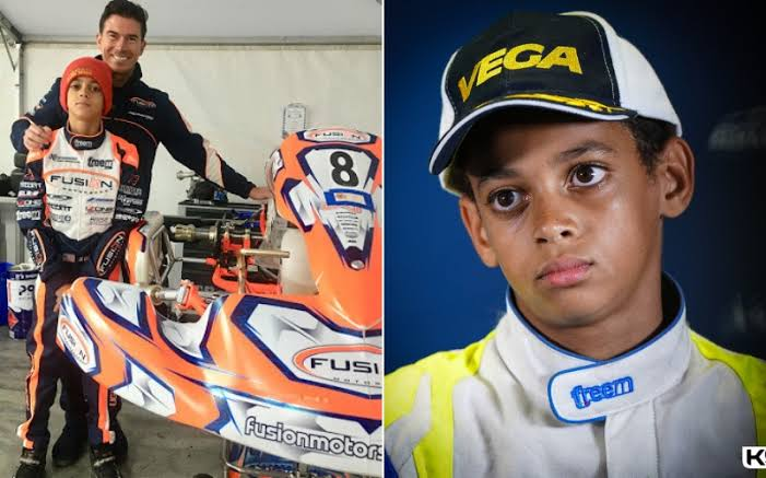British Racing Team, McLaren Signs 13-Year-Old Nigerian Karting Champion, Ugo Ugochukwu 1