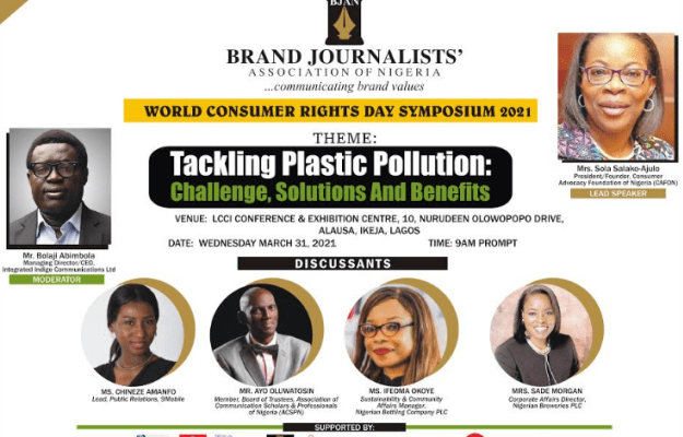 CAFCON President, Salako-Ajulo, others for 2021 BJAN's Consumer Rights Day