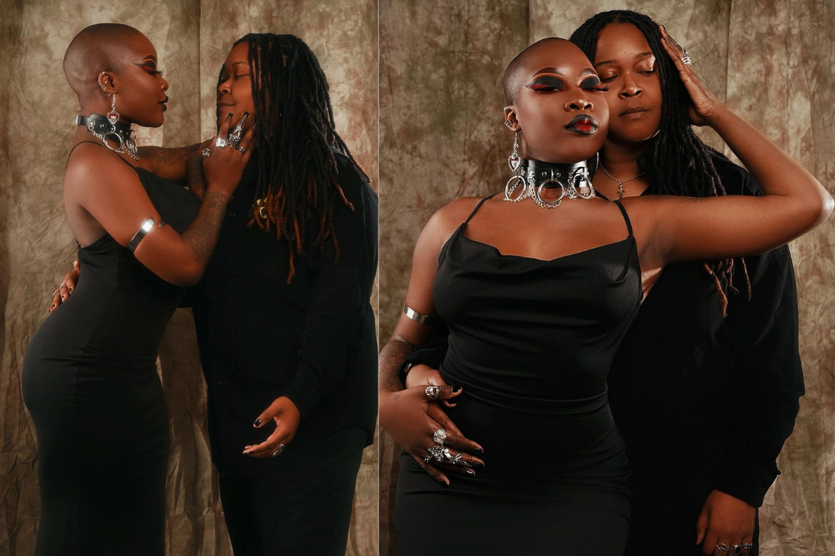 Charly Boy's Lesbian Daughter, Dewy Oputa Celebrates 3rd Anniversary With Her Partner [Photos] 1