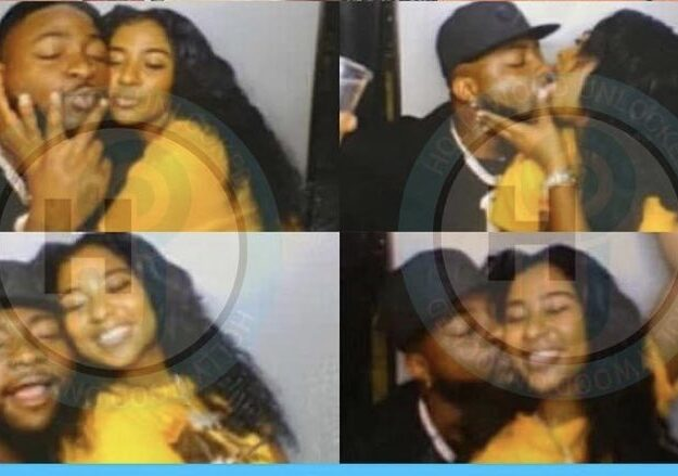 Chioma: Davido pictured kissing alleged new girlfriend, Nigerians react