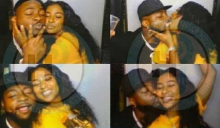 Davido Seen Kissing His New Girlfriend Mya Yafai Amid Breakup Rumours With Chioma [Photos] 2