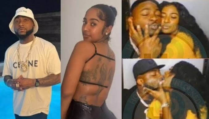 Davido Seen Kissing His New Girlfriend Mya Yafai Amid Breakup Rumours With Chioma [Photos] 1
