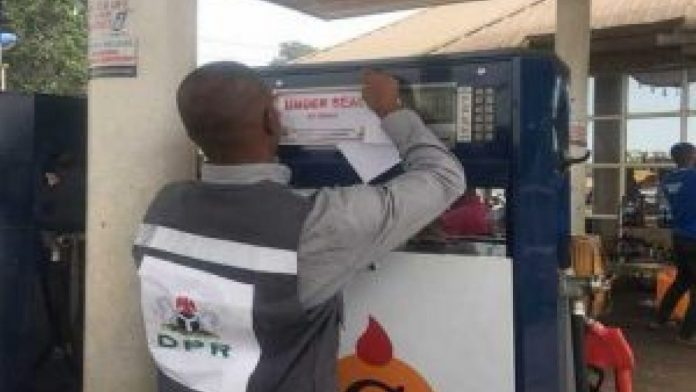 DPR seals 2 filling stations in Lagos