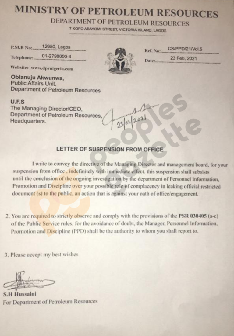 DPR Suspends Three Officials Accused Of Leaking Bashir Ahmad's Appointment Information 2