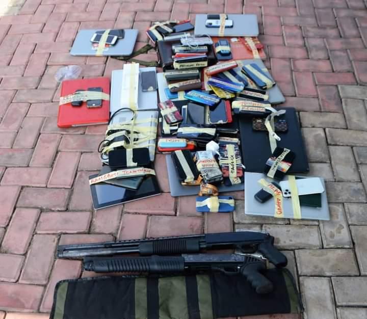 EFCC Arrests 57 Suspected Internet Fraudsters In Ogun, Recovers Two Pump Action Rifles 3