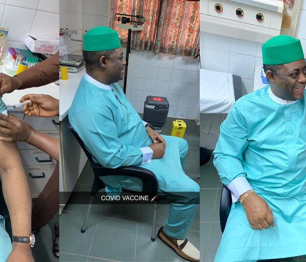 Fani-Kayode Takes COVID-19 Vaccine After Describing It As Evil And 'Gates Killer Vaccine'