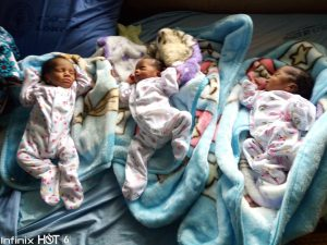 Father of newborn triplets cries out for help