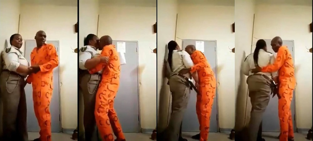 Female Prison Warder Suspended After She Was Caught Having Sεx With Male Inmate 1