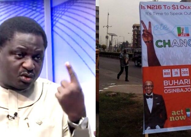Femi Adesina Says Buhari Never Promised To Make One Naira Equal To One Dollar [Video]