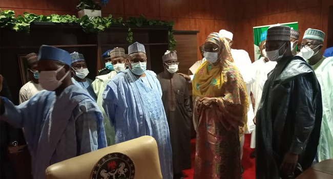 A federal government delegation paid a visit to Katsina on March 23, 2021.