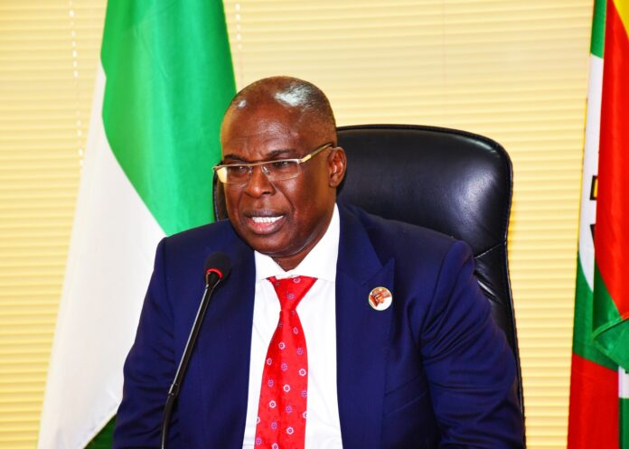 Minister of State for Petroleum Resources, Timipre Sylva