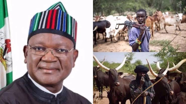 Governor Ortom 'Ran 1.5km' To Escape Death As Armed Herdsmen Attacked Him In Benue 1