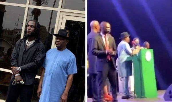 Governor Wike Gifts Artistes At Burna Boy's Homecoming Party N10 Million Each [Video]