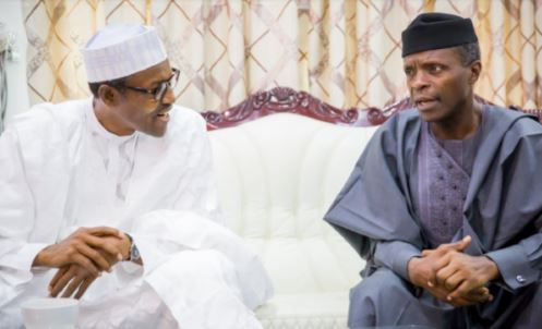 I Am Happy I Chose Osinbajo As My Running Mate – Buhari Praises VP on 64 Birthday