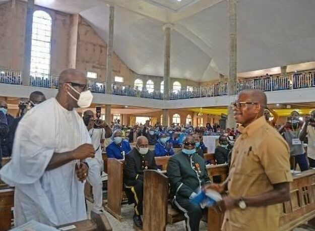 """""""I Hold No Personal Grudge Against Him"""" – Obaseki Says As He Meets Oshiomhole In Auchi"""
