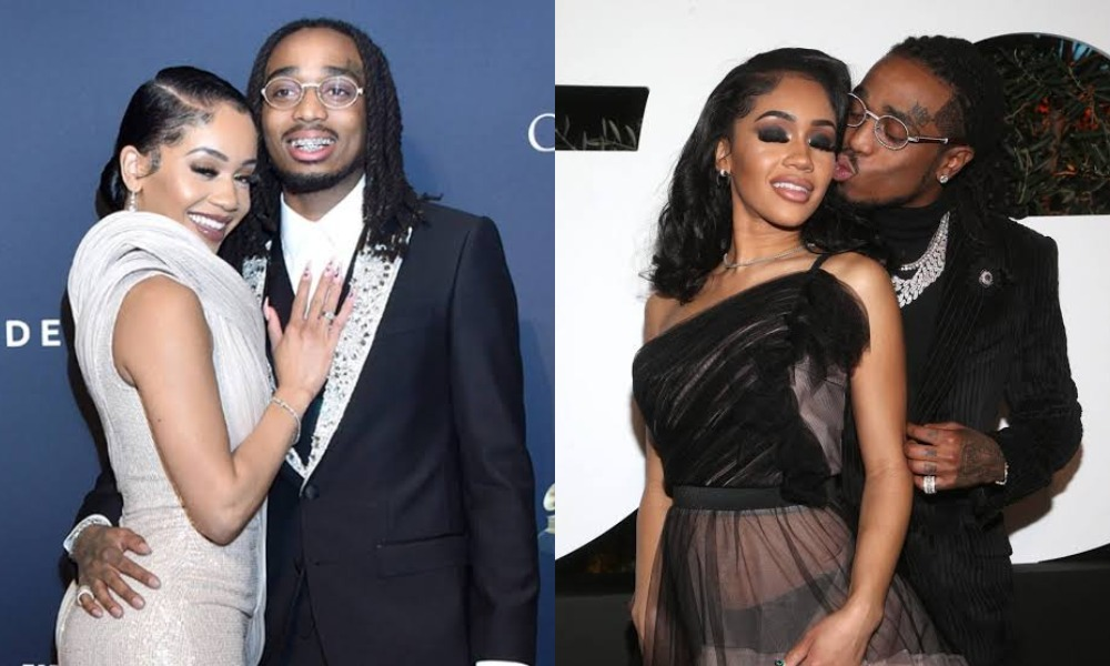 """""""I'm Disappointed, You're Not The Woman I Thought You Were"""" - Quavo Replies Saweetie 3"""