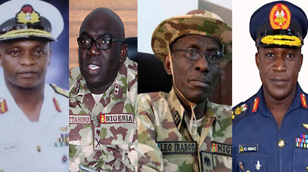 Increasing insecurity: Senate confirms of Service Chiefs nominated by Buhari