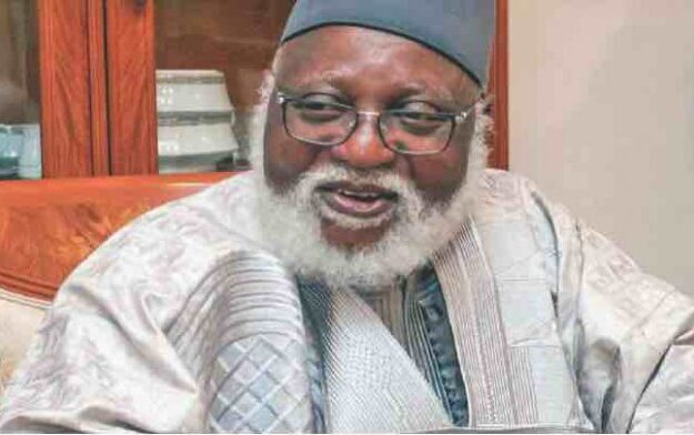 Insecurity tops agenda as Abdulsalami meets with Buhari