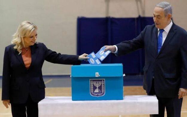 Israeli PM Netanyahu casts vote in election