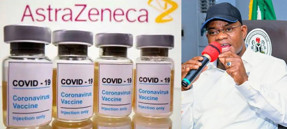 """""""Kogi People Will Not Take COVID Vaccine, We Are Not Guinea Pigs"""" - Governor Yahaya Bello 1"""