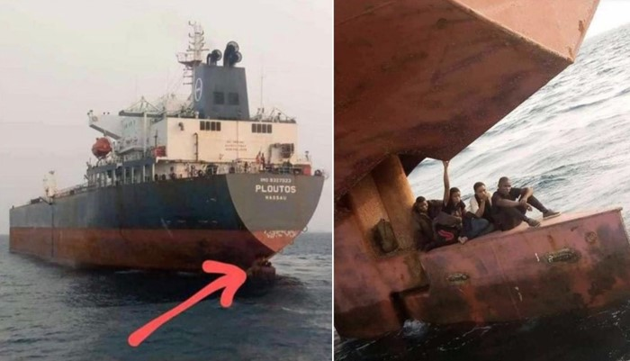Lagos Anchorage Officials Catches Stowaways Hiding Beneath A Ship Heading For Spain [Video] 1