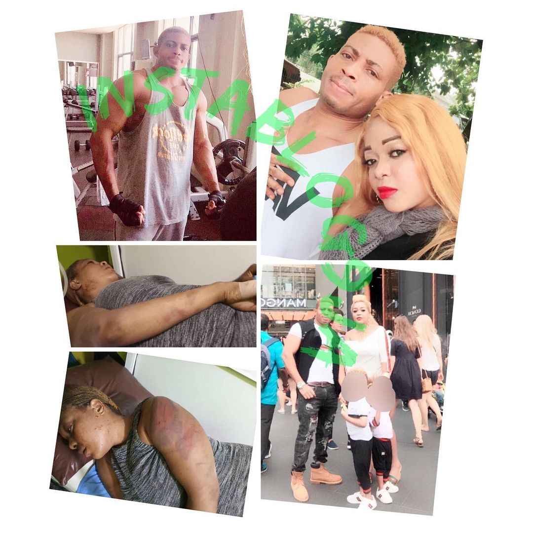 Man Beats Up His Wife Mercilessly Because She Advised Him Not To Sell His Land [Photos] 1