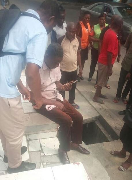 Man Escapes Death By A Whisker As Speeding Tipper Rams Into Him In Rivers (Photo)
