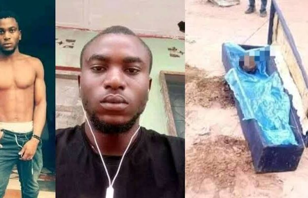 Man Kills His Mom, Cuts Off Her Head And Buries Her In Shallow Grave In Enugu [Photos]