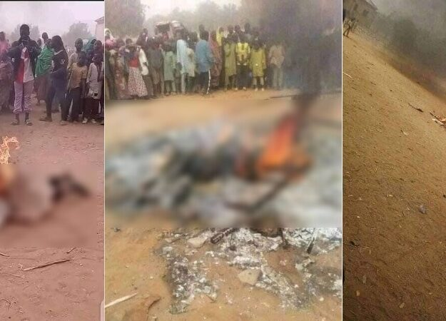 Man Tortured And Burnt To Death For Allegedly Insulting Prophet Muhammad In Bauchi [Photos]