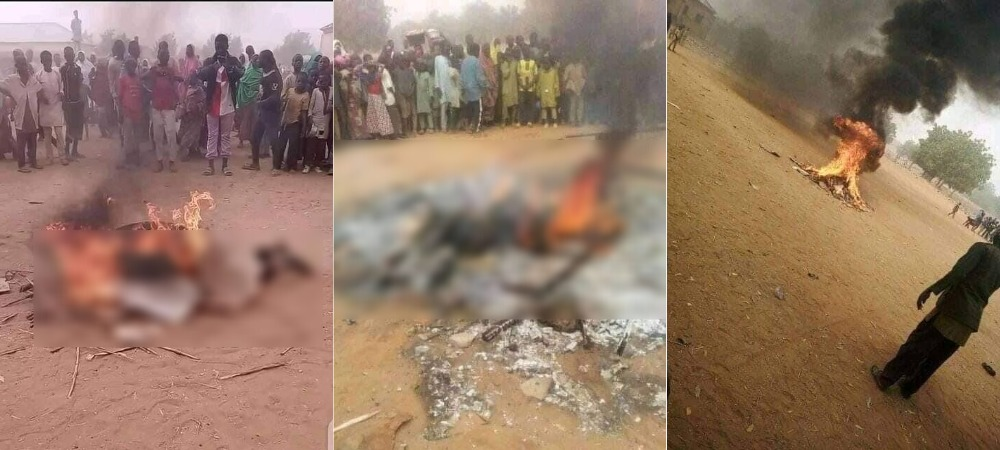 Man Tortured And Burnt To Death For Allegedly Insulting Prophet Muhammad In Bauchi [Photos] 1