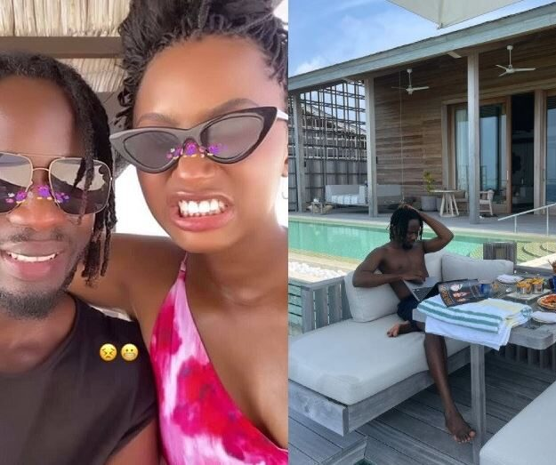 Mr Eazi Extends Romantic Birthday Getaway With Girlfriend,Teni