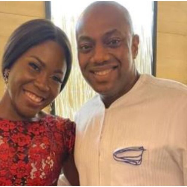 'My Baby'- Fela Durotoye Gushes Over Wife, Tara On Her 44th Birthday (Photo)
