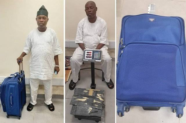NDLEA Arrests Notorious Drug Trafficker With Three Parcels Of Cocaine At Lagos Airport 1