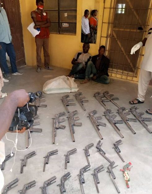 NDLEA Recovers 27 Rifles From Two Criminals In Niger State (Photo)