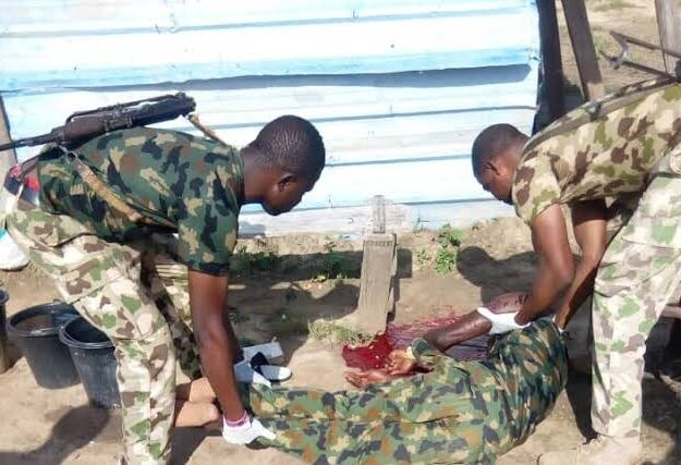 Newly Recruited Nigerian Soldier Commits Suicide During Conversation With His Colleagues