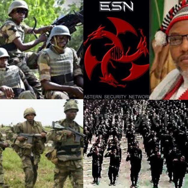Nigerian Army Storms Onitsha, Creates Many Roadblocks In Search Of ESN Operatives
