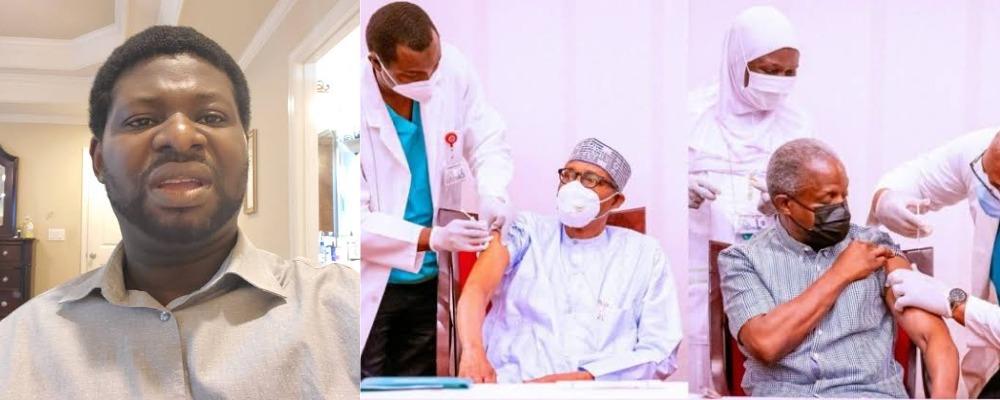 """Nigerians Need Jesus Christ, Not COVID-19 Vaccines"" – Pastor Giwa Tells Buhari, Osinbajo 1"