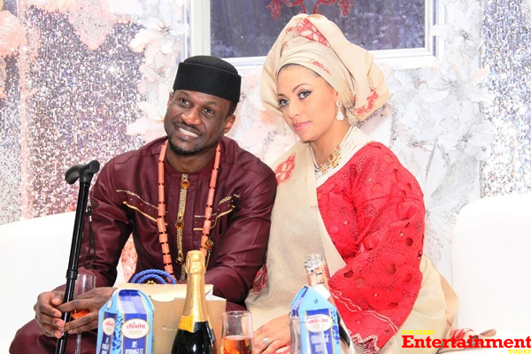 Nigerians Praise Peter Okoye for Standing By His Wife Just as Prince Harry Did for Meghan, He Reacts