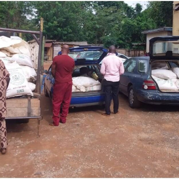 NSCDC Arrests Oyo Government Officials For Allegedly Stealing COVID-19 Palliatives (Photo)