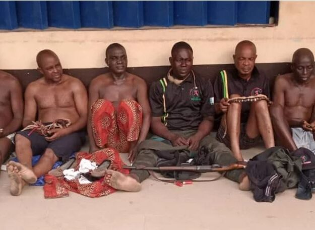 Obaship Tussle: Gunshots, Injuries Rock Ogun Community, Six Arrested (Photo)