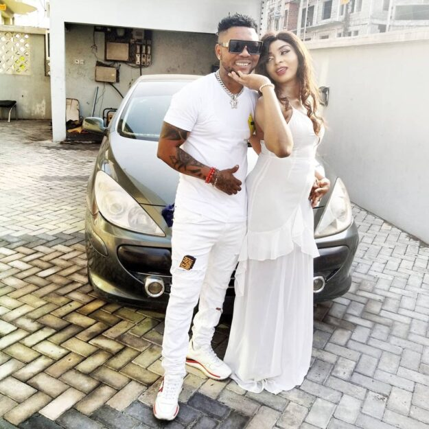 Oritsefemi And Wife Reconcile Weeks After She Publicly Accused Him Of Bringing A Woman Into Their Home