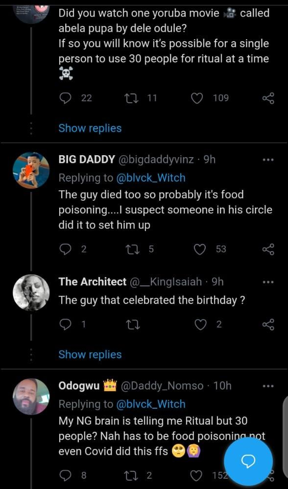 Over 50 Friends Allegedly Dies Mysteriously After Attending Yahoo Boy's Birthday In Ogun 4