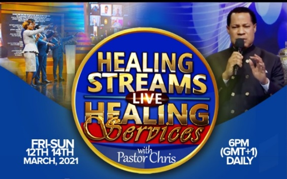 Pastor Chris holds Healing Streams, Largest Global Healing Crusade Friday to Sunday