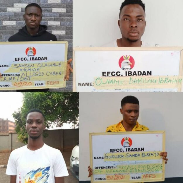 Photo Of Four Convicted Internet Fraudsters Asked To Refund $6,100 To Their Victims