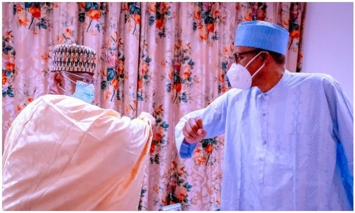 Buhari and Abdulsalami Abubakar