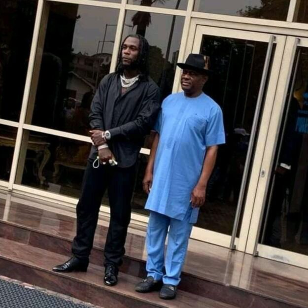 Rivers Govt. hosts Grammy awardee, Burna Boy, in Port Harcourt
