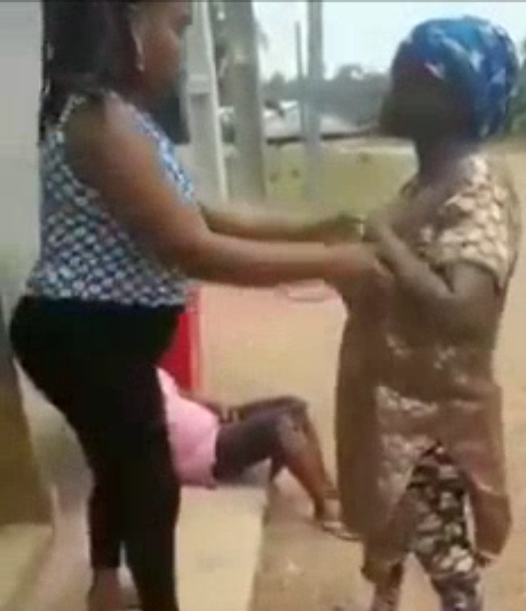 One of the farm attendants caught stealing eggs