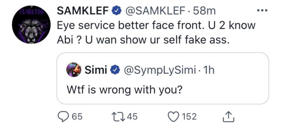 Simi And Erica Clashes With Samklef On Twitter For Sexualising Female Singer, Tems [Video] 3